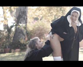 Cosplay Lesbian Film - Sinful Nun II  (2019)