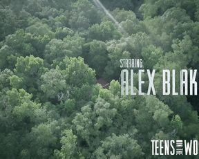 TeensInTheWoods - Alex Blake 2018 (Bound Sex, Horror, Blowjob)