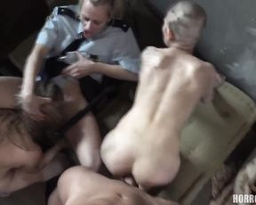 Punishment and submission in prison - Horror XXX
