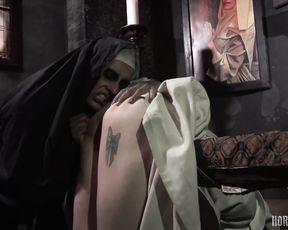 Porn Horror Movie - Damned Nuns