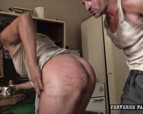 Roleplay Perverse Family - Home Anal Fest - Full HD