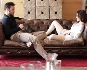 Erotic Video Clip - Mutual Masturbation and Sex on Sofa
