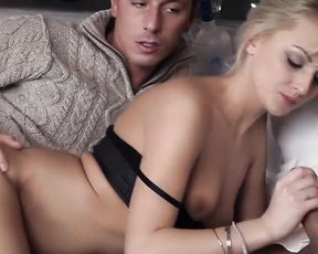 Soft Porn Video - Two Guys Seduced a Beautiful Blonde
