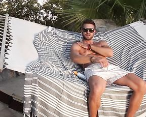 Solo Man Video - Male Masturbation Outdoors