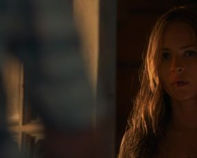 Britt Robertson nude – The Longest Ride (2015)