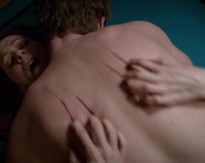 Naked scene Carrie Preston sexy, Anna Paquin nude – True Blood s07e07 (2014) TV show nudity video