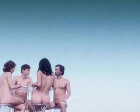 Explicit sex scene Fiona Wang & Jie Shui & Fiaona Cheung - Utopians (2015) Adult video from the movie