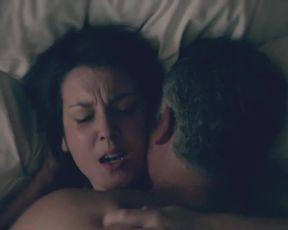 TV show scene Ginger Gonzaga, Melanie Lynskey - Togetherness S02E01 (2016) (Sex, Tits)