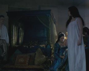 TV show scene Amy Manson nude - The White Princess s01e06 (2017)