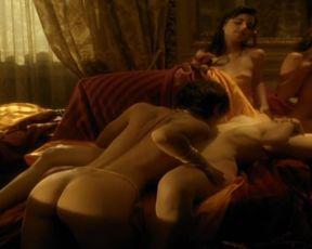 Celebrity Lesbian Video - Sylvie Vartan, Sylvie Valade nude - L'ange noir (1994)