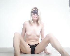Tik Tok. Step Sista doing Striptease Fitness Exercises at Home.