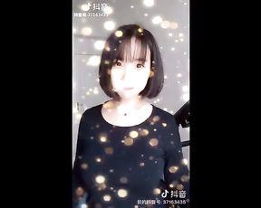 Tiktok抖音火山福利11 美女小姐姐网红美颜自拍合集, 豆豆 真空 爆乳 巨乳 超乳 Gorgeous Chinese Doll