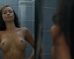 Hot scene Viva Bianca nude, Burnetta Hampson nude – X (2011)