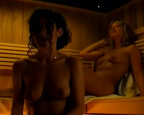 Explicit sex scene Ellen van der Koogh nude, Nienke Brinkhuis nude – Swingers (2002) Softcore Sex Video and Sauna Adult video from the movie