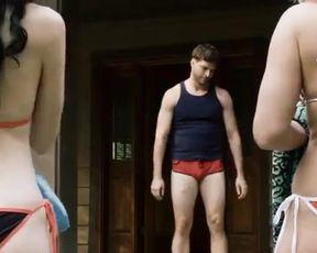 Sexy Lucretia Lynn, Tristan Risk, Ellie Church Nude - Harvest Lake (2016)