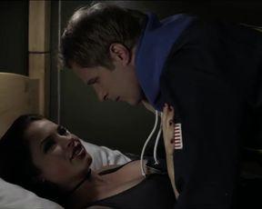 Sexy Alexis Knapp, Julie Gonzalo Sexy - Vamp U (2011) TV show scenes