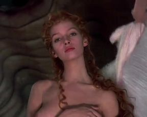 Hot scene Uma Thurman Nude - The Adventures of Baron Munchausen (1988)