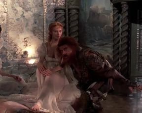 Hot scene Uma Thurman Nude - The Adventures of Baron Munchausen (1988)