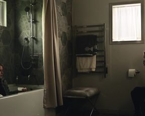 Naked scene Emily Browning - American Gods s01e02-04 (2017) TV show nudity video