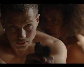 Hot scene Chasten Harmon nude – Damnation s01e01 (2017)