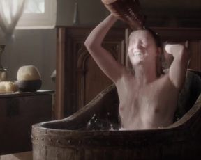 Actress Eve Ponsonby Nude - The White Queen (2013) s01e01 TV Show Sex Scenes