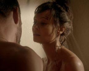 TV show scene Thandie Newton nude - Rogue S01E06-07 (2013)