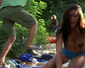Sexy Louise Cliffe nude - Wrong Turn 3 (2009)