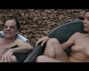 Topless scene Geraldine Pailhas nude - Louis Ferdinand Celine (2016)