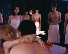 Hot scene Mugi Kadowaki, Yoko Mitsuya, Eriko Nakamura, Seri Akaba Nude - Ai No Uzu (2014)