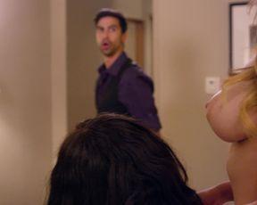 Melissa Mensah nude, Anna Beletzki naked - Bachelor_Night (2014) Topless Actresses in Jot Scene