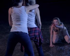 Rosie Pearson naked - Crying_Wolf (2015) Thriller Scene