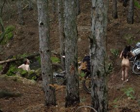 Talitha Luke-Eardley naked - Wrong_Turn_6 (2014)