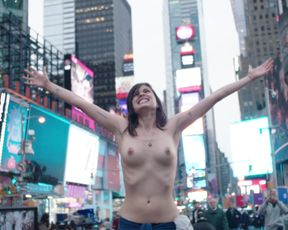 Lina Esco topless - Free_the_Nipple (2014) Outdoor Nude Scene