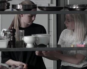 Malene Norreen, Sarah Juel Werner - Lobetid (2015) celebrity nude video