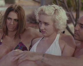 Hope Devaney - Lurking Woods (2015) Nude film scene