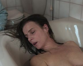 Rachel Griffiths - Mammal (2016) celebrity topless scenes