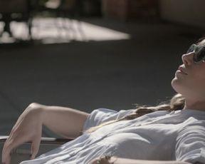 Jessica Biel, Zosia Mamet - Bleeding Heart (2015) celebs hot scenes