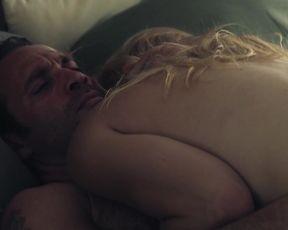 Amanda Clayton - Bad Frank (2017) Naked TV movie scene