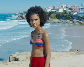 Isabelle Huppert, Sennia Nanua - Frankie (2019) celebrity bikini scenes