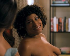 Arienne Mandi, Rosanny Zayas, Ashley Gallegos- The L Word - Generation Q s01e01 (2019) Censored nude scene
