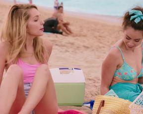 Chloe Bennet, Ashleigh Murray - Valley Girl (2020) Sexy movie scene