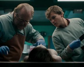 Olwen Catherine Kelly - The Autopsy of Jane Doe (2016) celeb hot movie scene