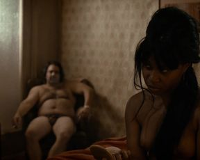 Dominique Fishback nude - The Deuce (2017) (Season1, Episode1)