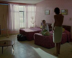 Maribel Verdu, Ana Lopez Mercado, Maria Aura nude sex scenes - Y tu mama tambien (2001)