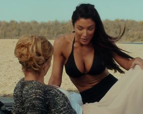 Nicky Whelan, Natalie Eva Marie - Inconceivable (2017) celeb topless scenes