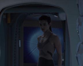 Clara Lago - Orbita 9 (2017) celebrity hot movie scene