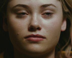 Virginia Gardner- Starfish (2018) Censorship nude scene
