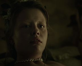 Mia Goth, Annette Lober - A Cure for Wellness (2016) Nude movie video