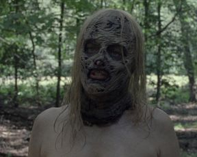 Samantha Morton - The Walking Dead s10e09 (2020) Naked actress in a sexy video