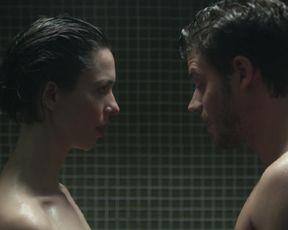 Rebecca Hall - Permission (2017) sexy hot movie scene